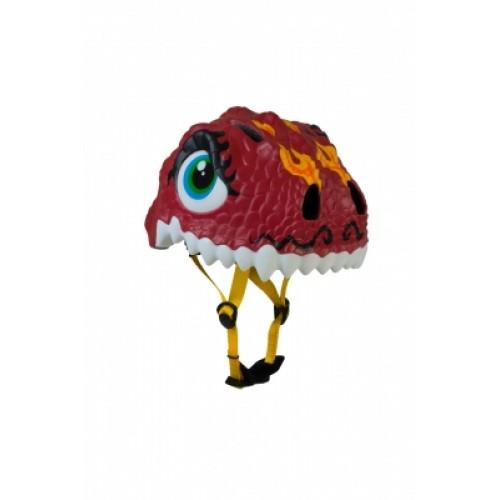 Защитный шлем Crazy Safety IN-MOLD с фонарем безопасности Китайский дракон