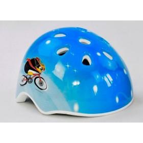 Защитный шлем D 26052 голубой