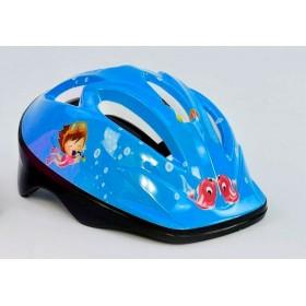 Защитный шлем F 18455 голубой