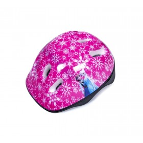Защитный шлем KidsSafe Snowflakes розовый