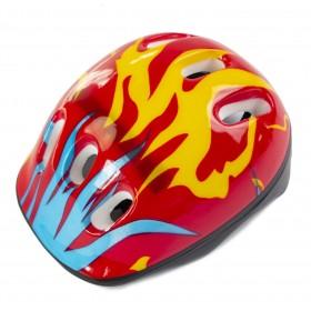 Защитный шлем KidsSafe Красный огонь