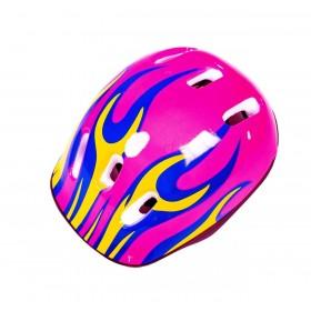 Защитный шлем KidsSafe Розовый огонь