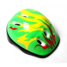 Защитный шлем KidsSafe Зеленый огонь