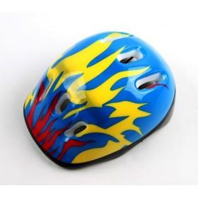 Захисний шолом KidsSafe синій вогонь