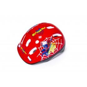Защитный шлем KidsSafe Spiderman красный