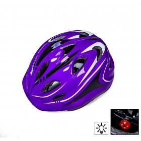 Захисний шолом Sporthelmet з регулюванням розміру фіолетовий