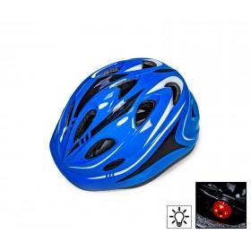 Захисний шолом Sporthelmet з регулюванням розміру синій