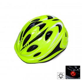 Захисний шолом Sporthelmet з регулюванням розміру салатовий