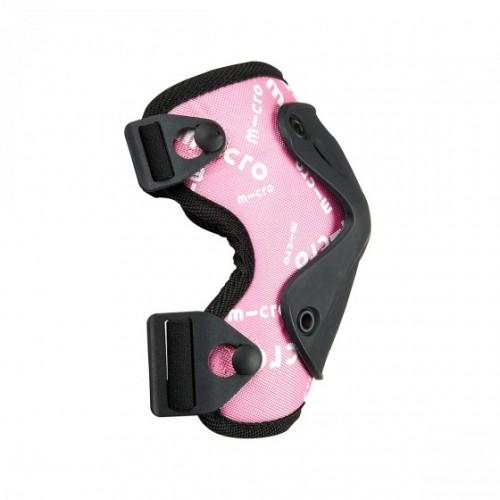 Защитный комплект налокотники и наколенники MICRO размер S, розовый