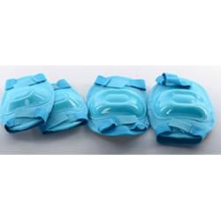 Защита Profi MS 0683 для локтей, коленей, голубая