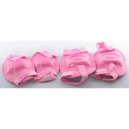Захист Profi MS 0683 для ліктів, колін, рожевий