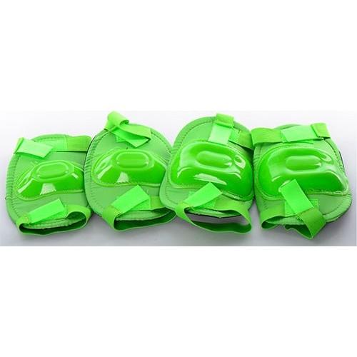 Захист Profi MS 0683 для ліктів, колін, зелений
