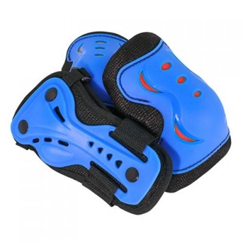Защита SFR для локтей, коленей и запястий на липучке, синяя