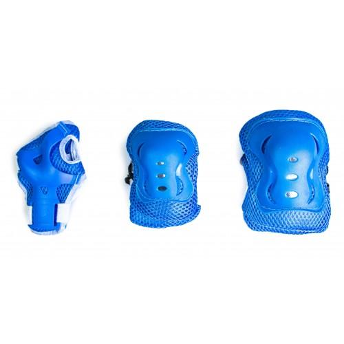 Захист SPORT SERIES для ліктів, колін і зап'ясть на липучці, блакитний